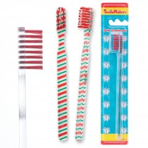 SmileCare Youth Candy Cane Scatter Toothbrush