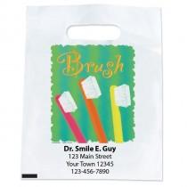 Custom Brush WaterColour Bags