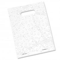 Multi Teeth Scatter Print Bag