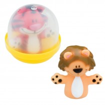 """Animal Finger Puppets in 2"""" Capsules"""