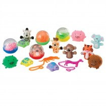 "Animal Toy Mix in 2"" Capsules"