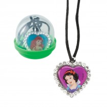 "Disney Princess Jewel Necklaces in 2"" Capsules"