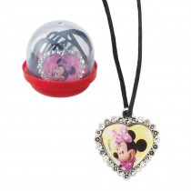 "Minnie Mouse Jewel Necklaces in 2"" Capsules"