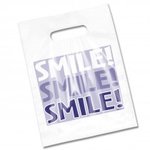 Clear Smile Smile Smile Bags