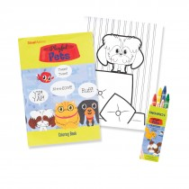 Playful Pets Coloring Value Pack