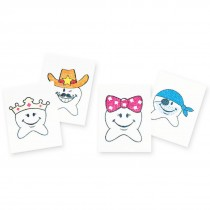 Happy Tooth Glitter Temporary Tattoos