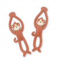 Stretchy Flying Brush, Floss, Smile Monkeys