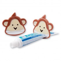 Brush, Floss, Smile Monkeys Toothpaste Squeezers