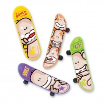 Brush Floss Smiley Monkey Skateboards