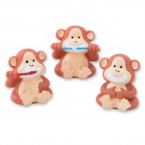 Brush, Floss, Smile Monkey Finger Puppets