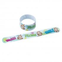 Brush Floss Monkey Slap Bracelets