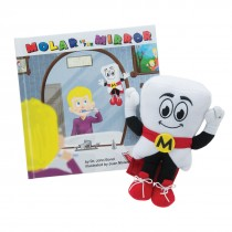 Mighty Molar Man Book and Plush Set