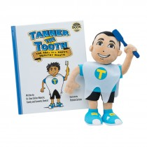 Tanner the Tooth Book and Plush Set