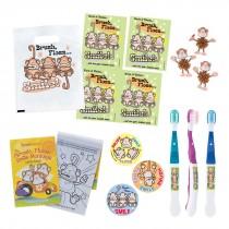 Brush Floss Smile Monkey Starter Pack