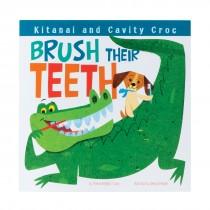 Kitanai and Cavity Croc Brush Their Teeth Book