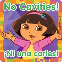 Dora the Explorer Dental Stickers