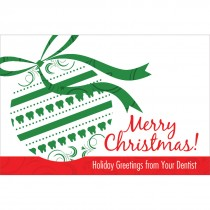 Merry Christmas Ornament Greeting Cards