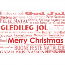 Merry Christmas Languages Greeting Cards