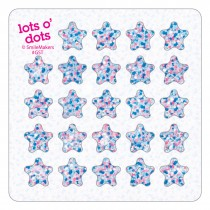 Sparkle Stars Lots o' Dots Stickers