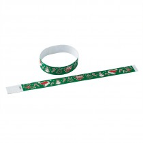 Seasons Greetings Adhesive Wristbands