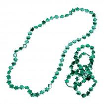 Shiny Shamrock Necklaces