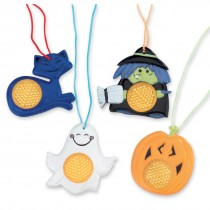 Halloween Reflective Necklaces
