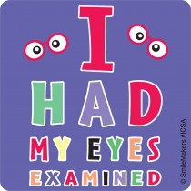 Eye Chart Stickers