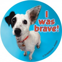 I Was Brave Stickers