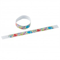 Bubble Gum Adhesive Wristbands