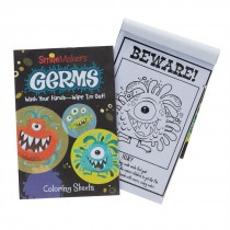 Germ Squad Colouring Sheets