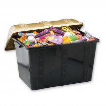 Super Sized Plastic Treasure Chest