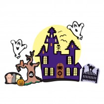Make-Your-Own Haunted House Stickers