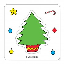 Make-Your-Own Christmas Tree Stickers