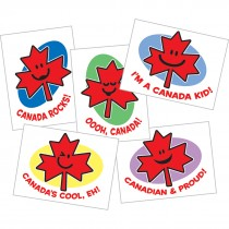 Canadian Maple Leaf Temporary Tattoos