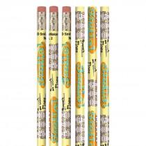 Brush, Floss, Smile Monkey Pencils