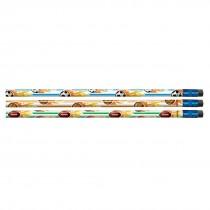 Sparkle Sports Flames Pencils