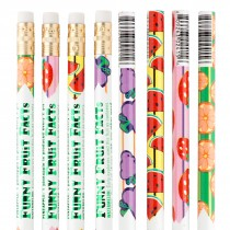 Funny Fruit Facts Pencils