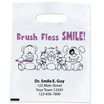 Custom Brush Floss Smile Bags