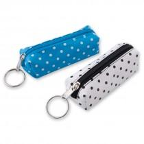 Polka Dot Coin Purse Backpack Keychains