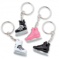 Ice Skate Backpack Keychains