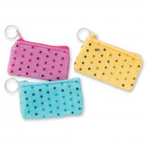 Sequin Purse Backpack Keychains