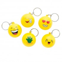 Emoji Stress Ball Backpack Pulls