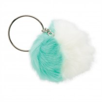 Fuzzy Ball Backpack Pulls