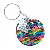Reversible Sequin Backpack Pulls