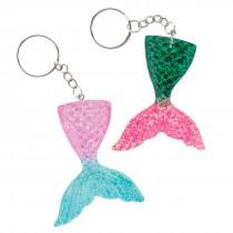 Mermaid Glitter Backpack Pulls
