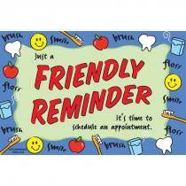 Friendly Reminder Border Recall Card