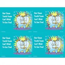 Clean Teeth Team Laser Cards