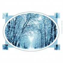 Snowy Winter Recall Cards