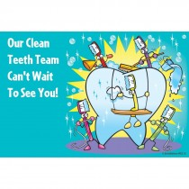 Clean Teeth Team Recall Cards