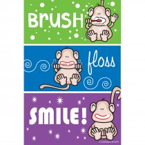 Monkey Colour Stripe Recall Cards